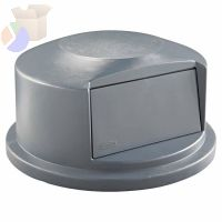 Brute Dome Tops, For 44 Gal. Brute Round Containers, 24 13/16 in