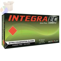 Integra Disposable Gloves, Nitrile, Finger - 23 mm; Palm - 2 mm, X-Large, Blue