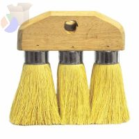 Roof Brushes, 6 1/4 in Hardwood Block, 3 1/4 in Trim L, Tampico Fill