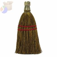Whisk Brooms, 7 in Trim L, Palmetto Fill