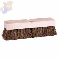 Deck Scrub Brushes, 9 in Hardwood Block, 2 in Trim L, Palmyra Fill