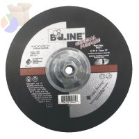 "Depressed Center Grinding Wheel, 9"" Dia, 1/4"" Thick, 5/8-11"" Arbor, 30 Grit"