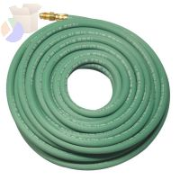 Single Line Welding Hoses, 1/4 in, 6 ft, Argon, Green