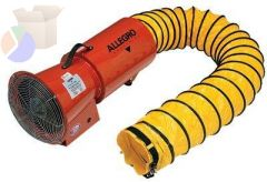 AC AXIAL BLOWER W/CANISTER & 25 FEET DUCTING