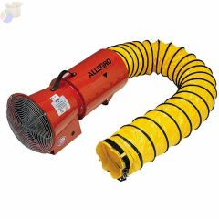 AXIAL VENTILATION BLOWERW/CANISTER 1/3HP AC EL