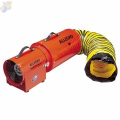 AC COM-PAX-IAL BLOWER W/15FT CANISTER 1/3 HP