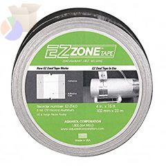 Ez Zone Tapes, Silver, 4 in x 75 ft x 3 mil