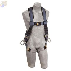 ExoFit Vest Style Positioning Harness with Back and Front D-Rings