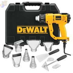 HEAVY DUTY HEAT GUN W/LCD DISPLAY AND KITBOX