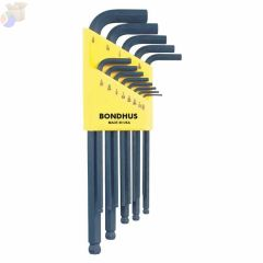 BLX 13 .050-3/8 BALL-DRIVER L-WRENCH 13 PC WRENC
