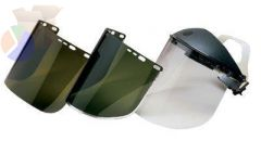 F30 Acetate Face Shields, 34-40 Acetate, Clear, 15 1/2 in x 9 in