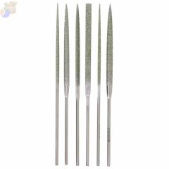 Needle File Sets, Cut 0, 6 1/4 in