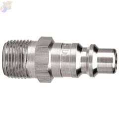 Air Chief ARO Speed Quick Connect Fittings, 1/4 in (NPT) M, Steel