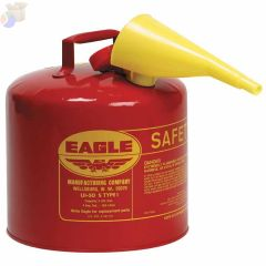 5 gal. Metal Type I Safety Can with poly funnel