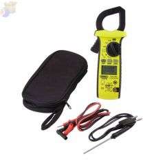 Rugged HVAC True RMS Amp Clamp Meters, 11 Function, 600A AC/DC