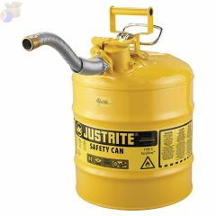 "Type II AccuFlow Safety Cans, Diesel, 5 gal, Yellow, 1"" Hose"