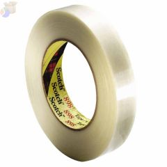 Scotch Filament Tape 898, 0.47 in x 60 yd, 380 lb/in Strength