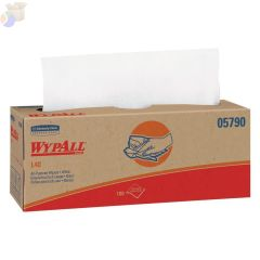 WypAll L40 Wipers, Pop-Up Box, White