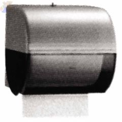 In-Sight Omni Roll Towel Dispensers, Wall, Plastic, Smoke