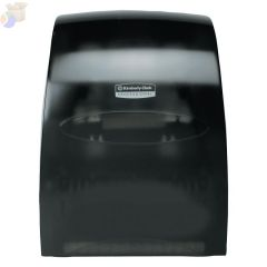 In-Sight Sanitouch Hard Roll Towel Dispensers, , Plastic, Smoke