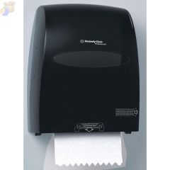 TOWEL DISPENSER,SANITOUCH,WHITE