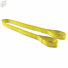 "Pro-Edge Web Slings, 2"" x 6', Eye To Eye, Polyester Domestic, Yellow"