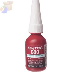 680 RetainCompound, Slip Fit, High Strength 10ML