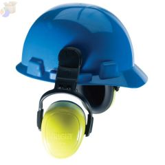 left/RIGHT Earmuffs, 28 dB NRR, Yellow, Helmet