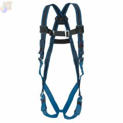 DuraFlex Ultra Harnesses, Back D-Ring, Quick Connect, Universal, Blue