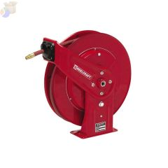 Heavy Duty Spring Retractable Hose Reels, 3/8 in x 70 ft