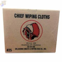 Knit T-Shirt Polo Cotton Wiping Rags, White, 25 lb Box