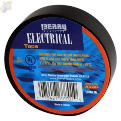 Electrical Tapes, 60 ft x 3/4 in, Black
