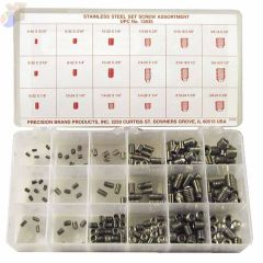 STAINLESS STEEL SET SCREW ASSORTMENT 220 PIECES