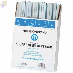 ASSORTMENT OF ALL SQUARE KEYSTK ZINC