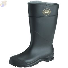 "Service Boots 16"" PVC stee toe boot black"