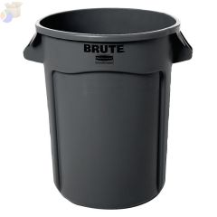 32GAL BRUTE CONTAINER W/O LID TRASH CAN GRAY