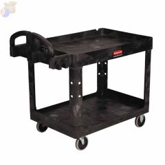 500 LB 2 SHELF UTILTY CART 45-1/4X25-7/8X33-1/4""