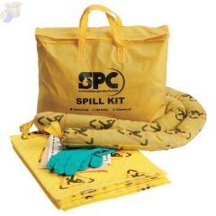 SPC Economy Portable Spill Kit, BRIGHTSORB, 5 gal