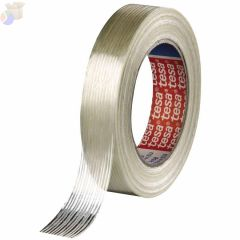 Economy Grade Filament Strapping Tape, 1 in x 60 yd, 100 lb/in Strength
