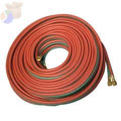 Twin Welding Hoses, 3/16 in, 12.5 ft, Acetylene Only