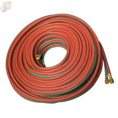 Twin Welding Hoses, 1/4 in, 800 ft, All Fuel Gases